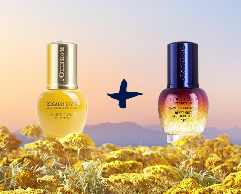 With Immortelle Divine Eyes